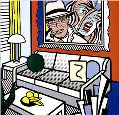 Roy Lichtenstein Interiors