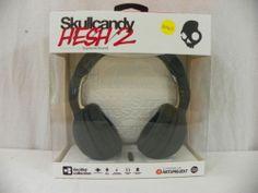 New Skullcandy Hesh 2.0 Mic'd Headphones Grim Weaper Black