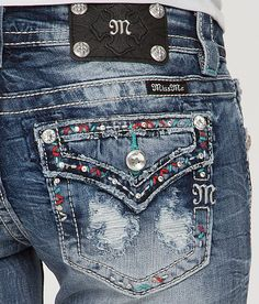 Miss Me Boot Stretch Jean | Buckle (pocket detail close-up... have)