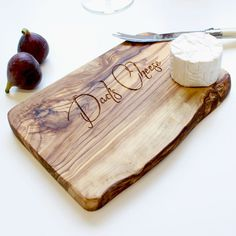 These lovely personalised rustic boards are ideal to use as a chopping, cheese, serving or presentation board. Perfect for any occasion(Don't forget fathers day!). Simply choose someone's favourite quote, names and the date of a special occasion, favourite cheese or cooking quotes, etc, etc, etc. If you can think of it, we can make it!