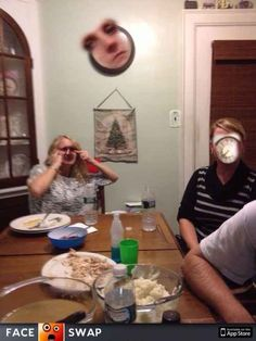 The Clock: | 26 Face Swaps That Will Make You Ridiculously Uncomfortable