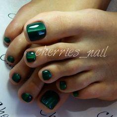 Vert laqué #nail