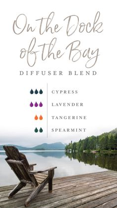 It's crisp, it's cool, it's cozy. Snuggle up with a flannel blanket or someone you love with this On the Dock of the Bay diffuser blend. Mix Cypress, Lavender, Tangerine, and Spearmint essential oils together, and you're immediately transported to a quiet dock that sits oceanside in Maine! #yleo #essentialoils #summerblend #diffuserblends