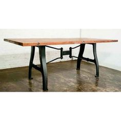 V4 A Leg Small Dining Table with Reclaimed Wood Top by Nuevo - HGDA107