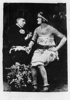 Charlie Wagner (1857-1953) american tattoo artist.