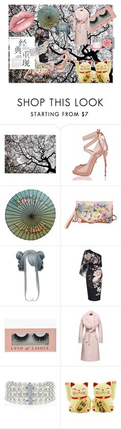 """All aboard To Japan"" by melissa-jones-01 ❤ liked on Polyvore featuring Anuschka, Lipsy, Sentaler and Lime Crime"