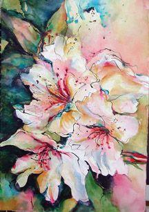 """Mendocino Art Center """"Garden Poster"""""""
