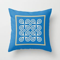 Another CO Graphic series  Throw Pillow by Another-CO - $20.00