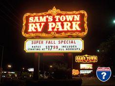 Las Vegas Sams Town RV Park