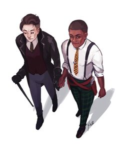 "yinza: ""Kaz and Jesper from Six of Crows! ""--- ""What do you think my forgiveness looks like Jordie? Ya Books, I Love Books, Good Books, Knife Drawing, Crooked Kingdom, The Grisha Trilogy, Crow Art, Leigh Bardugo, Six Of Crows"