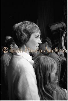 Julie Andrews backstage at 'Darling Lili' (1970).