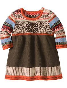 storyteller sweater dress (hanna andersson)