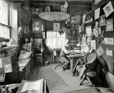 "Detroit, Michigan, circa 1902. ""Artist for Richmond & Backus, printers and binders."""