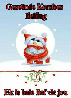 Geseënde Kersfees liefling Merry Christmas Images, Christmas Quotes, Christmas Wishes, Christmas Time, Xmas, Projects To Try, Messages, Afrikaans, Comics