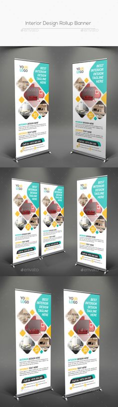 Interior Design Rollup Banner Template PSD. Download here: http://graphicriver.net/item/interior-design-rollup-banner/16689868?ref=ksioks
