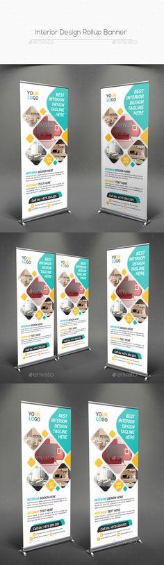 Interior Design Rollup Banner Template PSD. Download here: http://graphicriver.net/item/interior-design-rollup-banner/16689868?ref=ksioks