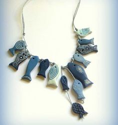 fish necklace - Google Search