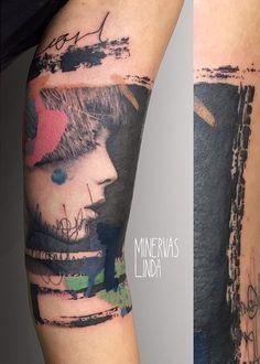 Minervas Linda tattoo