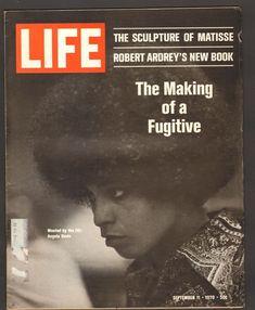 Life Magazine September 11 1970 Making of a Fugitive Angela Davis wanted by FBI Angela Davis, September 11, Life Magazine, New Books, Ebay