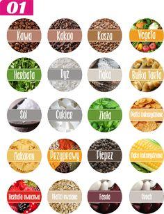 Etykiety przypraw - Hledat Googlem Spice Jar Labels, Spice Jars, Decoupage, Diy And Crafts, Spices, Google, Diy Artwork, Cuisine, Tags
