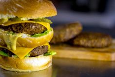 Three buns, two juicy plant-based beef patties, and a secret sauce made with egg-free mayonnaise make this vegan Big Mac recipe pure gold.