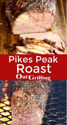 Pikes Peak Roast with a delicious dry rub is grilled with hickory smoke for a tasty main dish. Slice this roast thin for the best roast beef sandwiches to enjoy all week long. Pikes Peak Roast Recipe, Best Roast Beef Recipe, Roast Beef Recipes, Grilling Recipes, Smoker Recipes, Tofu Recipes, Barbecue Recipes, Cookbook Recipes, Recipes Dinner