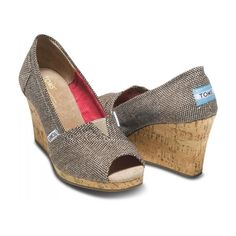 Tom wedges. want