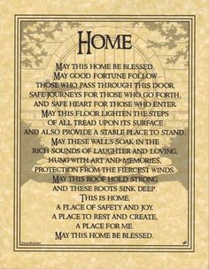 Home Blessing - Click Image to Close