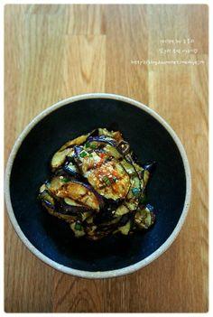 [구운가지무침] 쫄깃한 식감이 좋은 구운 가지무침 – 레시피 | Daum 요리