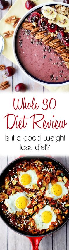 Thinking of trying the Whole 30 Diet? Dietitian Abbey Sharp looks at the pros…