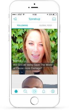 Speakup - Topic based video conversations.