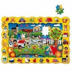 Find It! Search and Discover Floor Puzzle by The Learning Journey. $23.45. The Find It! Floor Puzzles are both a puzzle and game in one! First have your child complete the 50 piece floor puzzle. Once completed, have your child find one of the many objects that are illustrated around the picture's border. There are many things to find and talk about as children discover the hidden objects. This large floor puzzles is beautifully illustrated and such fun that ch...