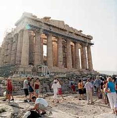 The 5th century B.C. Acropolis. Athens isn't all about the Acropolis anymore. A major makeover prior to the 2004 Olympics added squares and pedestrian walkways, revamped hotels, even created subway stations that double as museums.