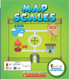 Amazon.com: There's a Map on My Lap!: All About Maps (Cat in the ...
