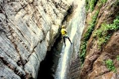 Canyoning outside Marrakech in the Ourika Valley