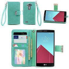IZENGATE LG G4 Wallet Case - Executive Premium PU Leather Flip Cover Folio with Stand (Mint), http://www.amazon.com/dp/B00YD71JOC/ref=cm_sw_r_pi_awdm_XFMCvb079TFM6