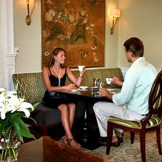 Enjoy a traditional english tea every afternoon at 4pm at Rosedon Hotel, Bermuda