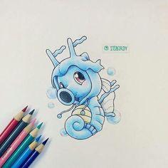 #116 Horsea in a #230 Kingdra onesie Pokemon
