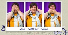 Dee: White, LGBT Ally, Senior - I have lobbied, and continue to lobby, for Transgender Rights.