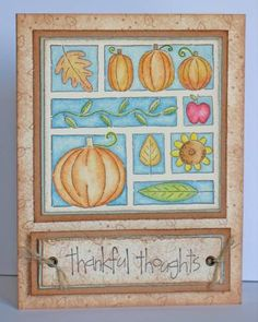 Thoroughly Thankful by Choc0holic - Cards and Paper Crafts at Splitcoaststampers