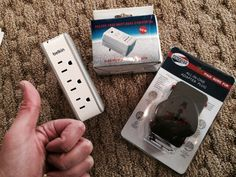 Adapters/Surge protectors   My Top 10 Must-Haves for International Travel