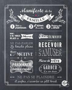 Le Manifeste de la Famille (lithographie)