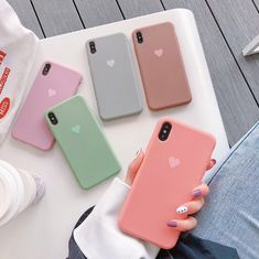 Love Heart Candy Phone Cases For iPhone Iphone 6, Iphone 8 Plus, Coque Iphone, Iphone Mobile, Apple Iphone, Candy Phone Cases, Pink Phone Cases, Cute Phone Cases, Phone Covers