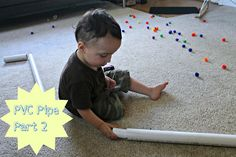 More PVC pipe activities