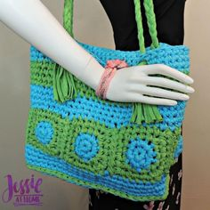 Hooked Tote by JessieAtHome