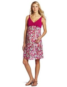 Amazon.com: Ripe Maternity Women's Arum Floral Dress: Clothing