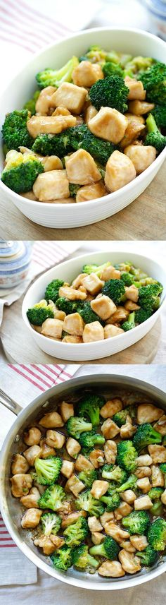 Broccoli Chicken – Learn how to make healthy homemade chicken stir-fry with broccoli in brown sauce. Best Chinese takeout recipe | rasamalaysia.com