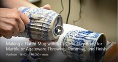 Agateware is a name given to marbled pottery made from two or more different colors of clay, resulting in a swirly or layered appearance. This nickname comes from the ...