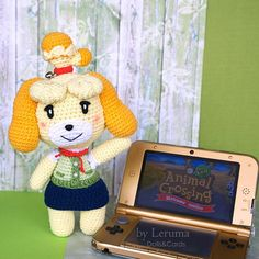 MADE TO ORDER, Isabelle from Animal crossing , Isabelle in kimono, Animal crossing plush, animal cro Animal Crossing Plush, Animal Crossing Villagers, Animal Games, My Animal, Nintendo, Plush Animals, Red Ribbon, Plushies, Crochet Toys