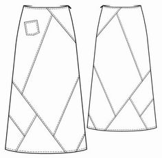 patchwork crazy skirt